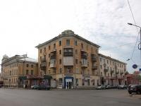 Казань, улица Островского, дом 34. многоквартирный дом