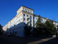 Казань, улица Островского, дом 1. многоквартирный дом