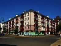 Казань, улица Островского, дом 37. многоквартирный дом