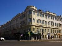 Казань, улица Островского, дом 39. многоквартирный дом