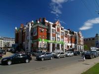 Казань, улица Островского, дом 57В. многофункциональное здание