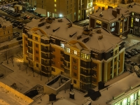 Kazan, Ostrovsky st, house 59. Apartment house
