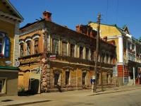 Казань, улица Парижской Коммуны, дом 16. неиспользуемое здание