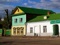 Казань, памятник архитектуры Дом Муллина, улица Каюма Насыри, дом 13