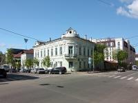 Казань, улица Карла Маркса, дом 8. неиспользуемое здание