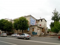 Kazan, Karl Marks st, house 45 с.1. vacant building