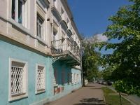 Kazan, Apartment house Дом А.Ф.Рахматуллина - А.Г.Хусаинова, Shigabutdin Mardzhani st, house 42