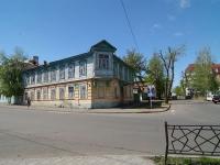 Казань, многоквартирный дом Дом Апанаевых, улица Сафьян, дом 1