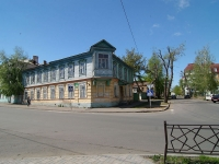 Kazan, Apartment house Дом Апанаевых, Safian st, house 1