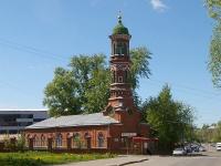 Казань, улица Ахтямова, дом 7. мечеть Бурнаевская