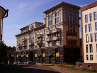 Kazan, st Bekhterev, house 9. building under construction