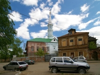 "Казань, улица Сары Садыковой, дом 8. мечеть ""Зангар"""