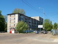 Казань, улица Сары Садыковой, дом 22. жилой дом с магазином