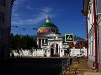 Казань, улица Большая Красная, дом 5. монастырь Казанский Богородицкий мужской монастырь