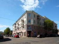 Казань, улица Большая Красная, дом 14. жилой дом с магазином