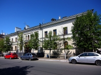 Kazan, Bolshaya Krasnaya st, house 15. multi-purpose building