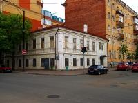 Казань, улица Большая Красная, дом 46 с.1. здание на реконструкции