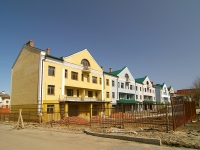 Kazan, building under construction жилой дом, Fedoseevskaya st, house 56/1