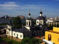 соседний дом: ул. Федосеевская, дом 46. церковь Святой преподобномученицы Евдокии