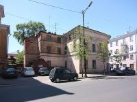Казань, улица Миславского, дом 16. многоквартирный дом
