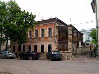 Казань, улица Малая Красная, дом 8А. здание на реконструкции