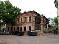 Kazan, Malaya Krasnaya st, house 8А. building under reconstruction