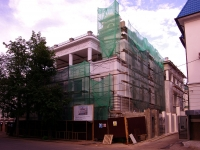 neighbour house: st. Malaya Krasnaya, house 8А. building under reconstruction