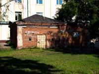 Казань, улица Жуковского. хозяйственный корпус