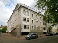 Kazan, Zhukovsky st, house 9. Apartment house