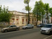 Казань, улица Жуковского. неиспользуемое здание