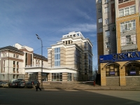 Kazan, building under construction Гостиничный комплекс, Butlerov st, house 25