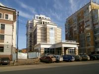 Казань, строящееся здание Гостиничный комплекс, улица Бутлерова, дом 25