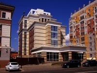 Казань, улица Бутлерова, дом 25. строящееся здание Гостиничный комплекс