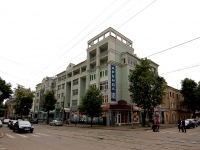 Kazan, Butlerov st, house 35. Apartment house with a store on the ground-floor