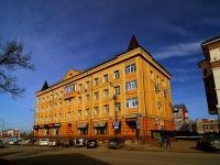 Казань, улица Бутлерова, дом 21. многофункциональное здание