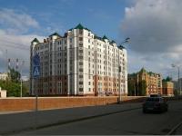 Казань, улица Вишневского, дом 3. многоквартирный дом