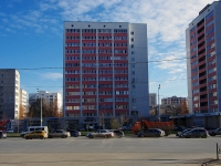 neighbour house: st. Vishnevsky, house 55. Apartment house