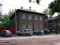Kazan, Volkov st, house 56. Apartment house