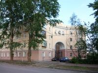 Казань, улица Лесгафта, дом 2. многоквартирный дом