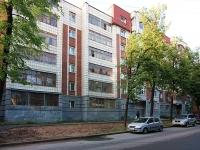 Казань, улица Лесгафта, дом 21. многоквартирный дом