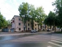 Казань, улица Лесгафта, дом 24. многоквартирный дом