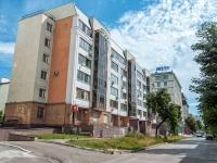 Казань, улица Лесгафта, дом 3. многоквартирный дом