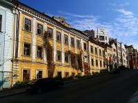 Kazan, st Galaktionov, house 1. vacant building