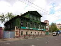 Kazan, Gorky st, house 5. Apartment house with a store on the ground-floor