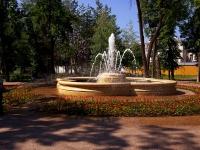 Казань, улица Гоголя. фонтан в Лядском саду