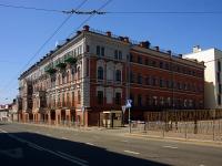 Kazan, st Gorky, house 3. building under reconstruction