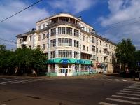 Казань, улица Горького, дом 17. многоквартирный дом