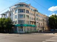 Kazan, Gorky st, house 17. Apartment house