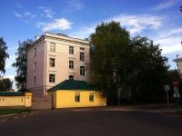 Казань, улица Толстого, дом 14 к.1. многоквартирный дом