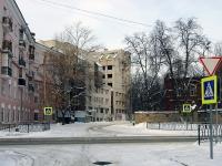 Kazan, st Tolstoy, house 3. vacant building